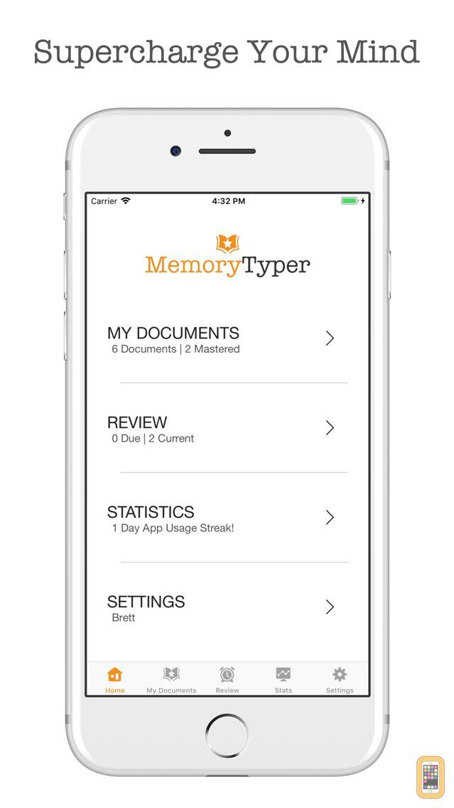 Screenshot - Memory Typer - Memorize Easily