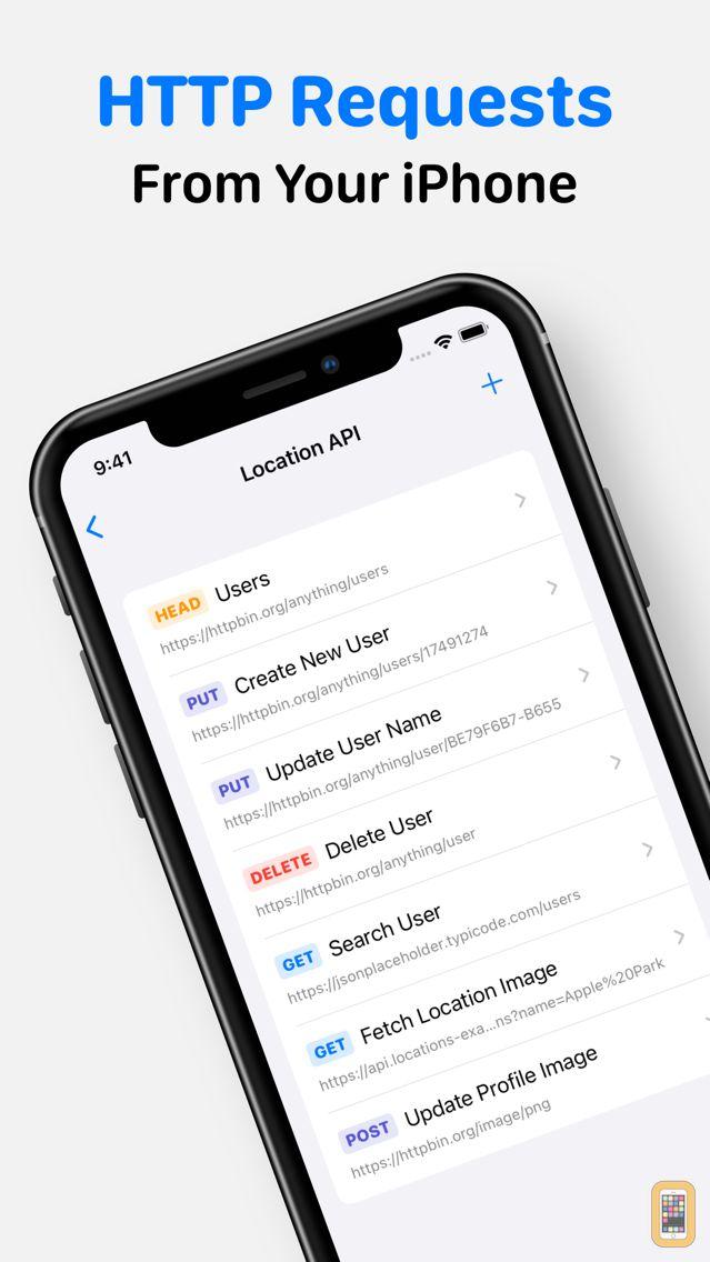 Screenshot - Rest – HTTP API Client