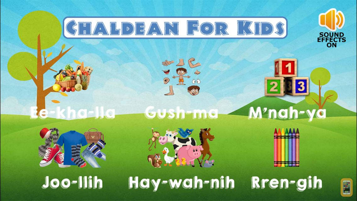 Screenshot - Chaldean For Kids