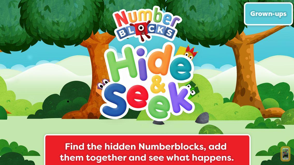 Screenshot - Numberblocks: Hide and Seek