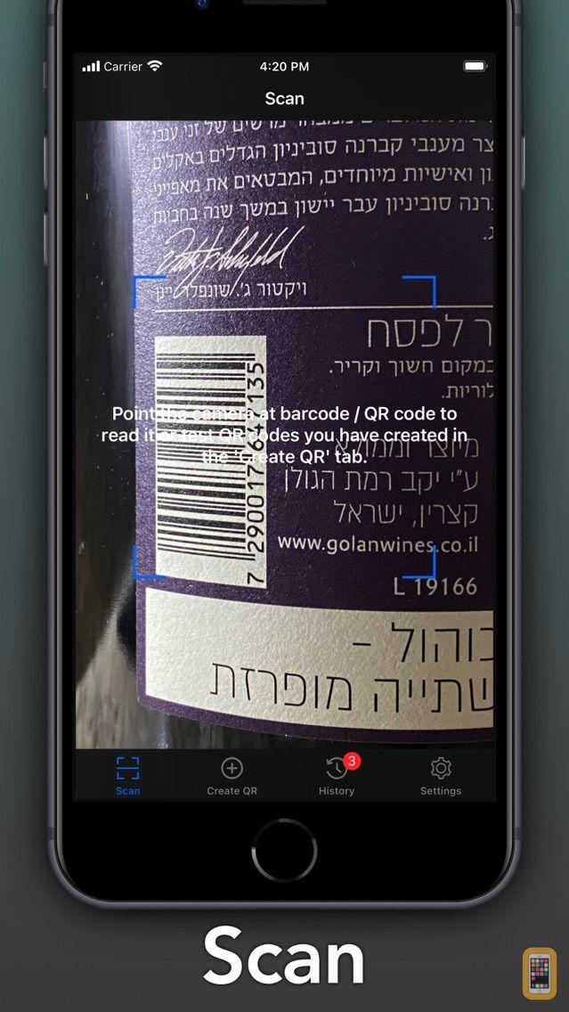 Screenshot - QR + BarCode Scanner