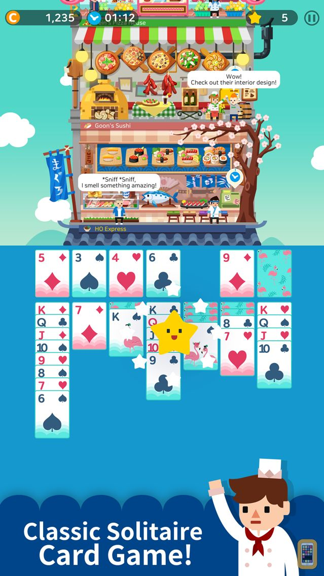Screenshot - Solitaire Cooking Tower