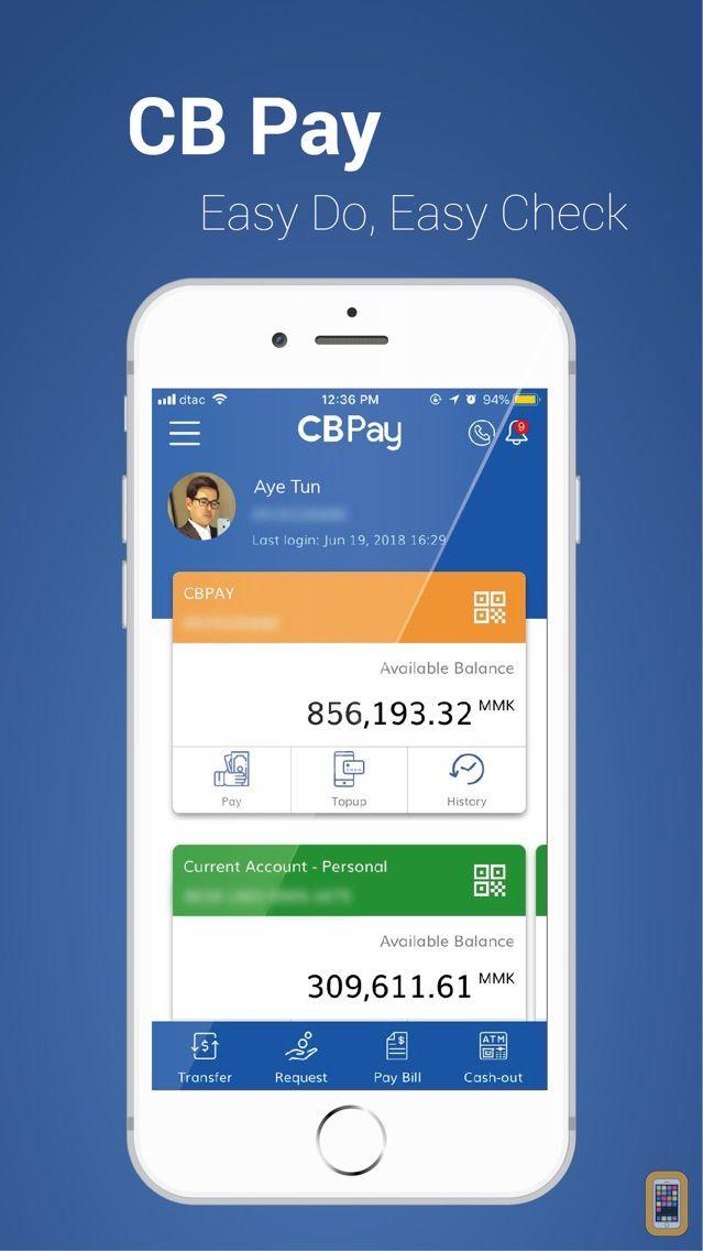 Screenshot - CB Pay