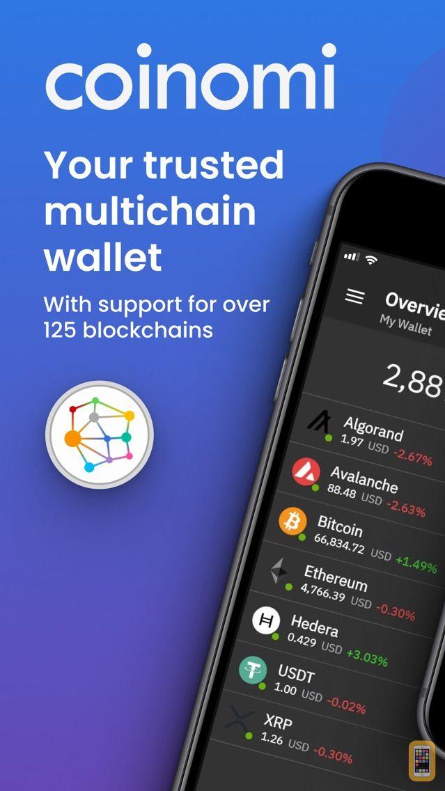 Screenshot - Coinomi Wallet