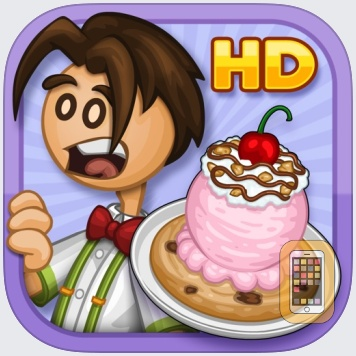 Papa's Scooperia HD by Flipline Studios (iPad)