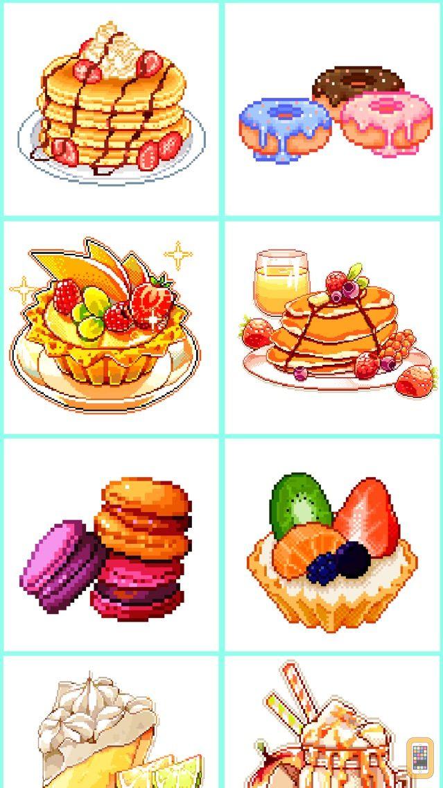 Screenshot - Color by number - Tasty Pixel