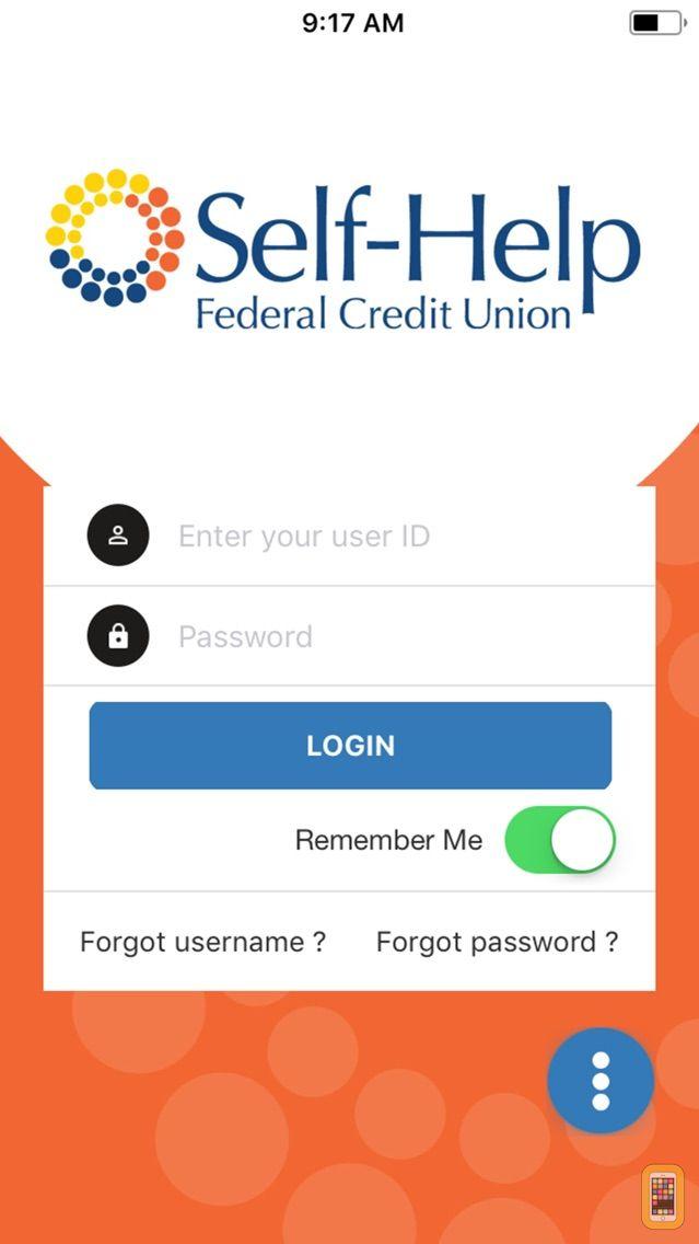 Screenshot - Self-Help FCU Mobile Banking