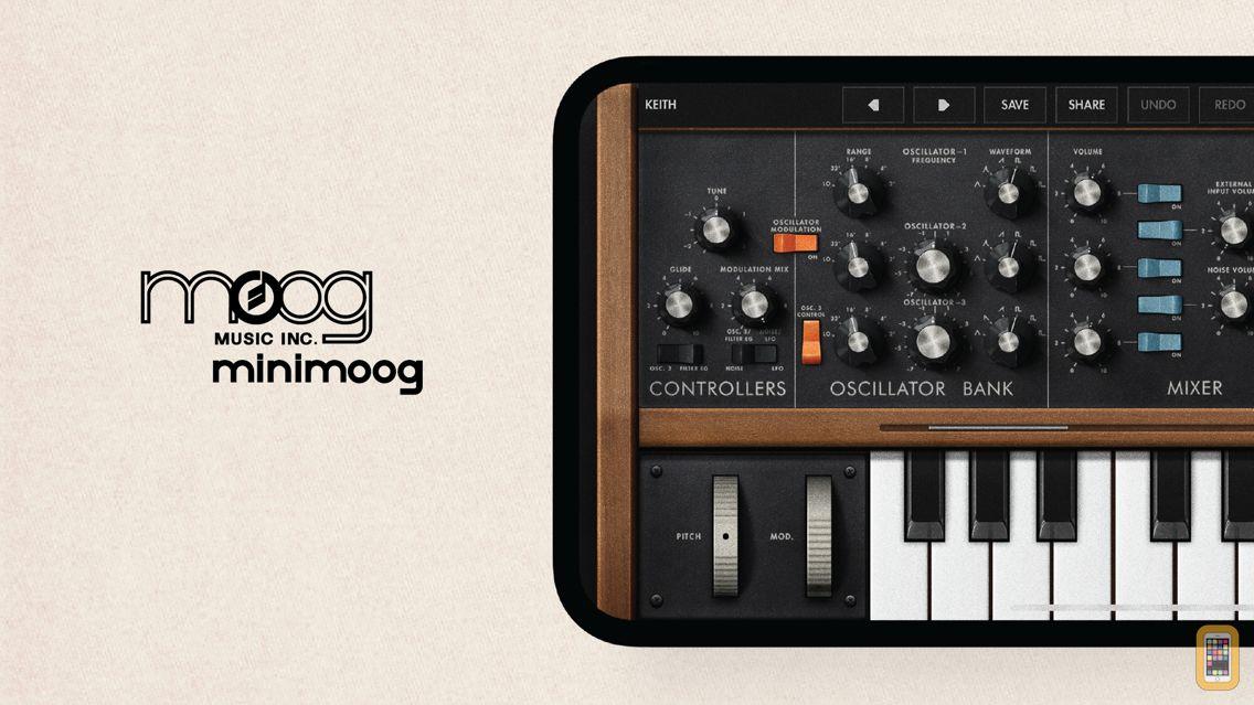Screenshot - Minimoog Model D Synthesizer