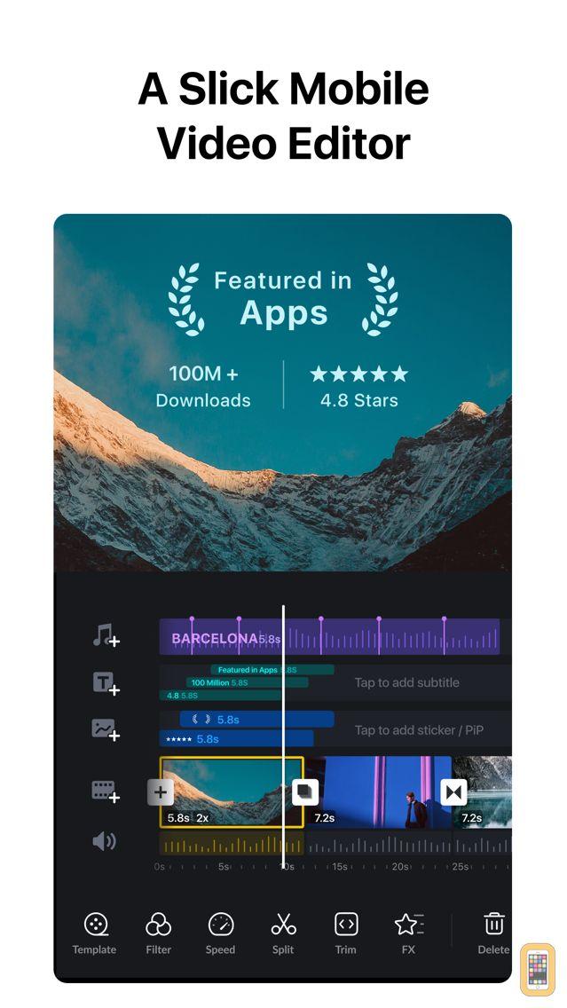 Screenshot - VN Video Editor Maker VlogNow