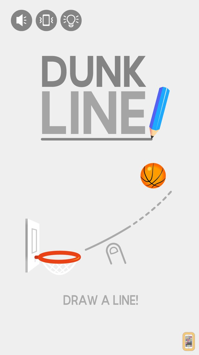 Screenshot - Dunk Line