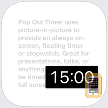 Pop Out Timer & Stopwatch by Think Tap Work (iPad)