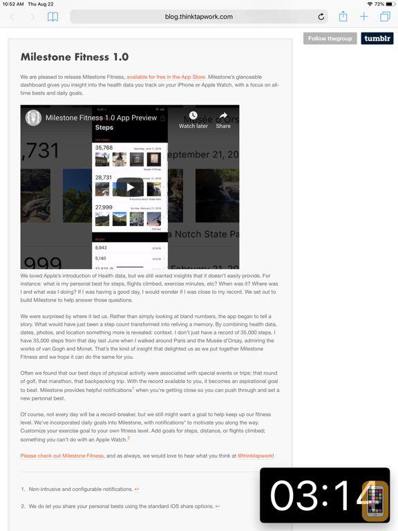 Screenshot - Pop Out Timer & Stopwatch