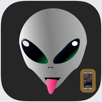 Augmented Reality UFO Stickers by Casey Pollock (Universal)