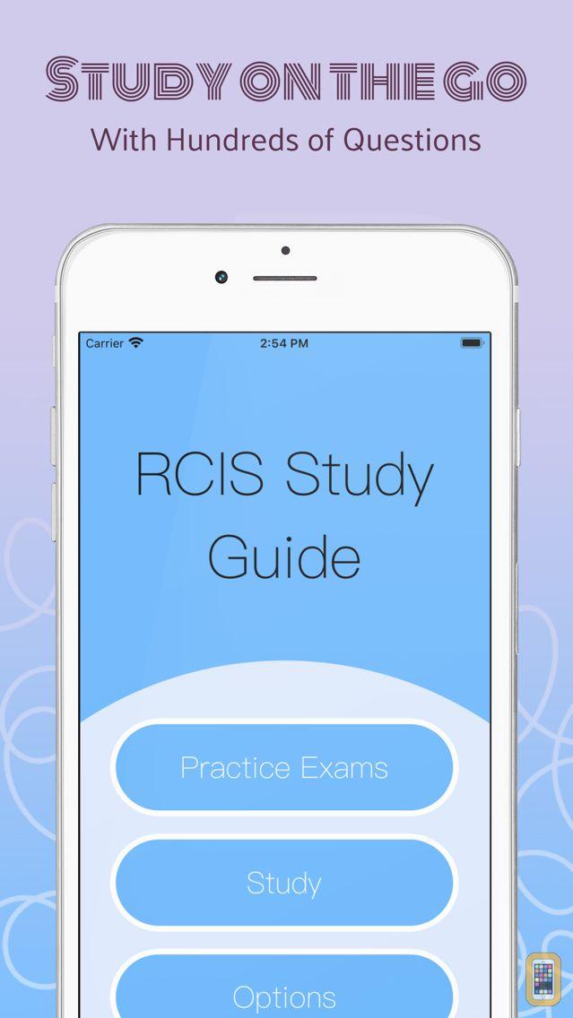 Screenshot - RCIS Study Guide