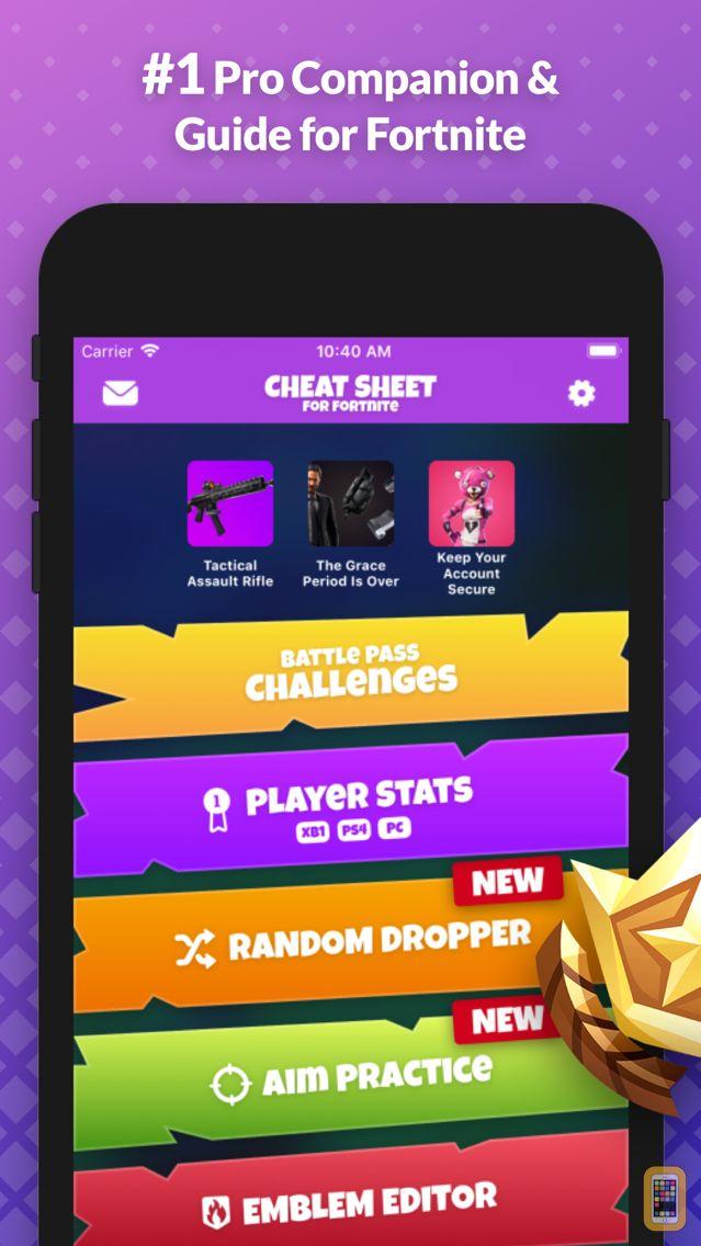 Screenshot - Cheat Sheet Guide for Fortnite