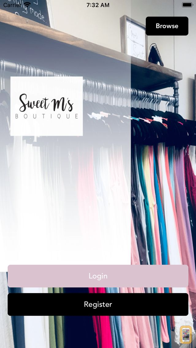 Screenshot - Sweet M's Boutique