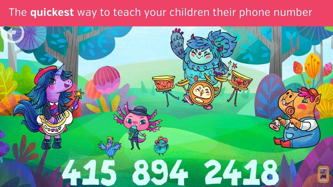 Screenshot - Teach Phone Number To Kids