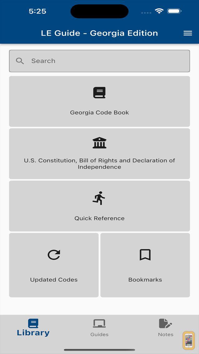 Screenshot - Law Enforcement Guide