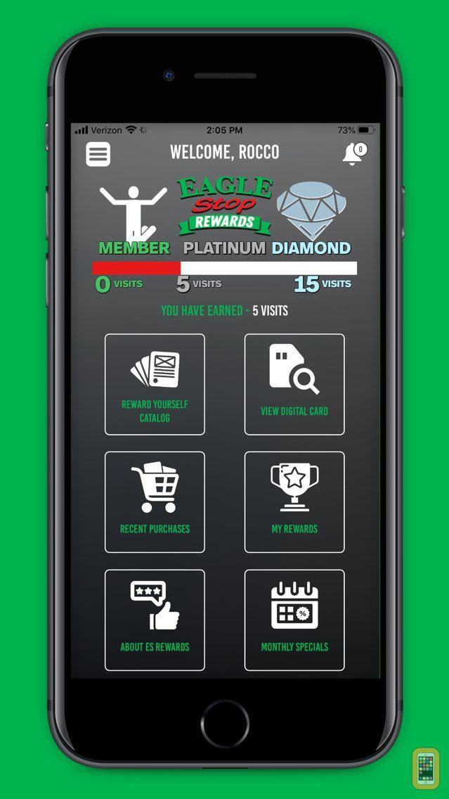 Screenshot - Eagle Stop Rewards