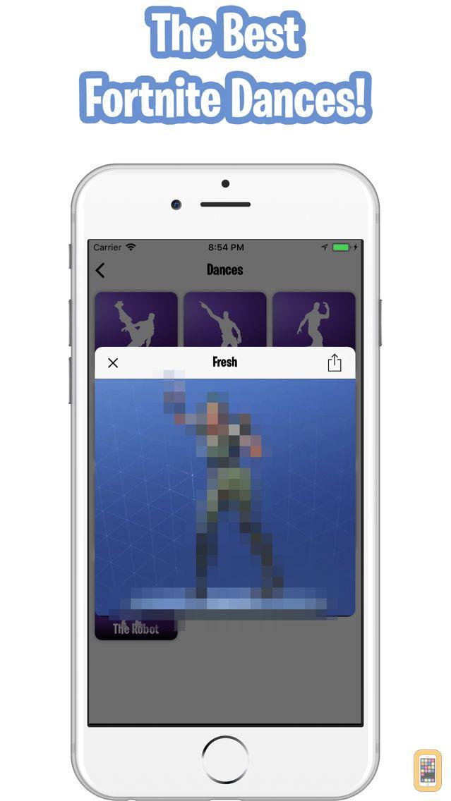screenshot emotes for fortnite dances - best fortnite stats app