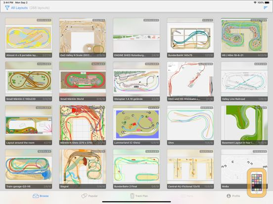 Screenshot - Train Layouts