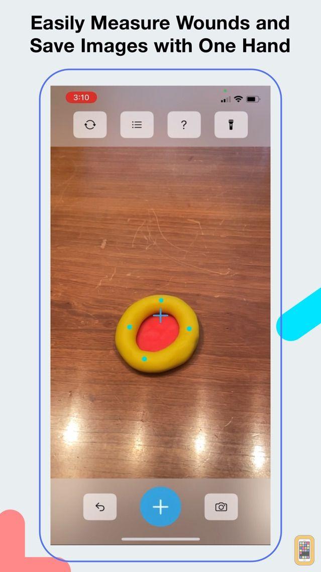 Screenshot - Wound Measurement