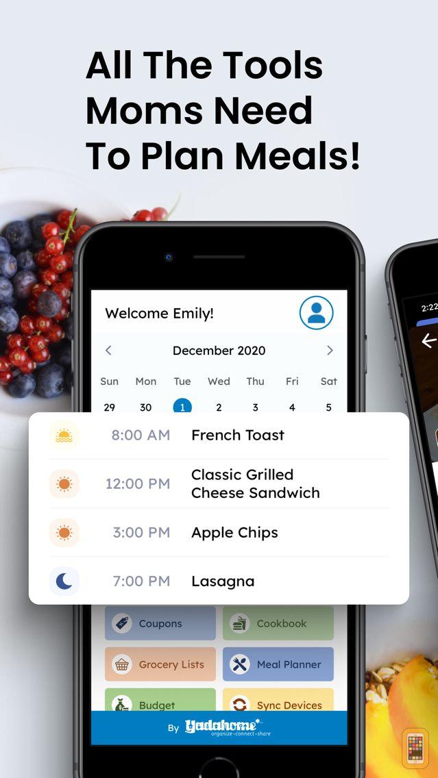 Screenshot - MealTastic Family Meal Planner