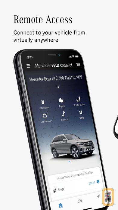 Screenshot - Mercedes me connect (USA)