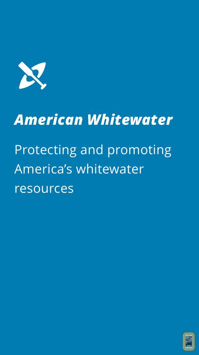 Screenshot - American Whitewater