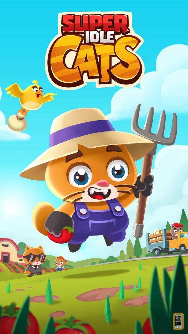 Screenshot - Super Idle Cats - Tap Farm