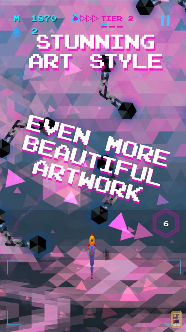 Screenshot - Trixel Rocket