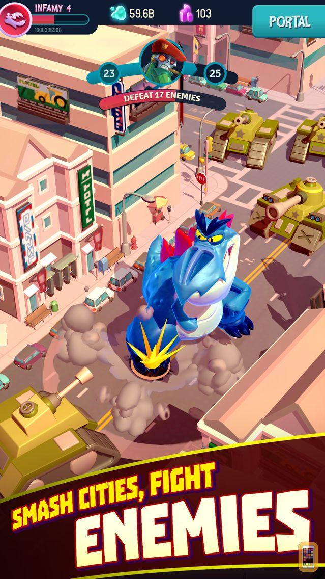 Screenshot - I Am Monster: Idle Destruction