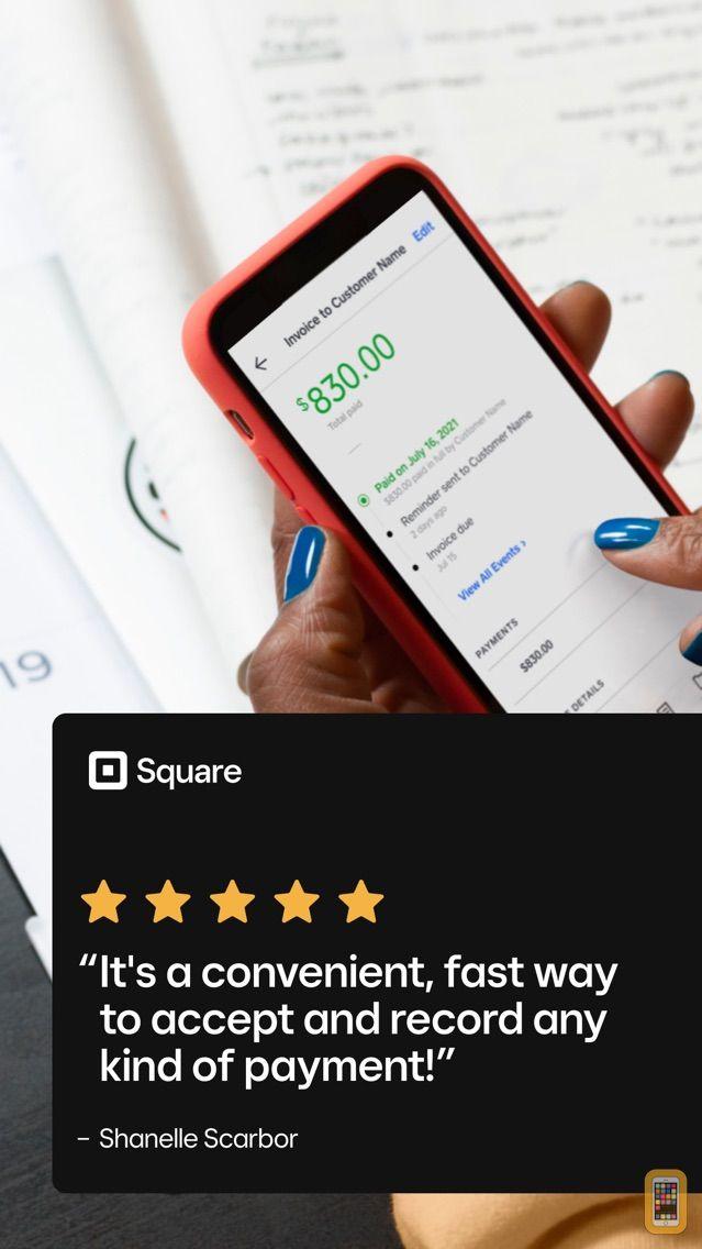 Screenshot - Square Invoices Invoice Maker