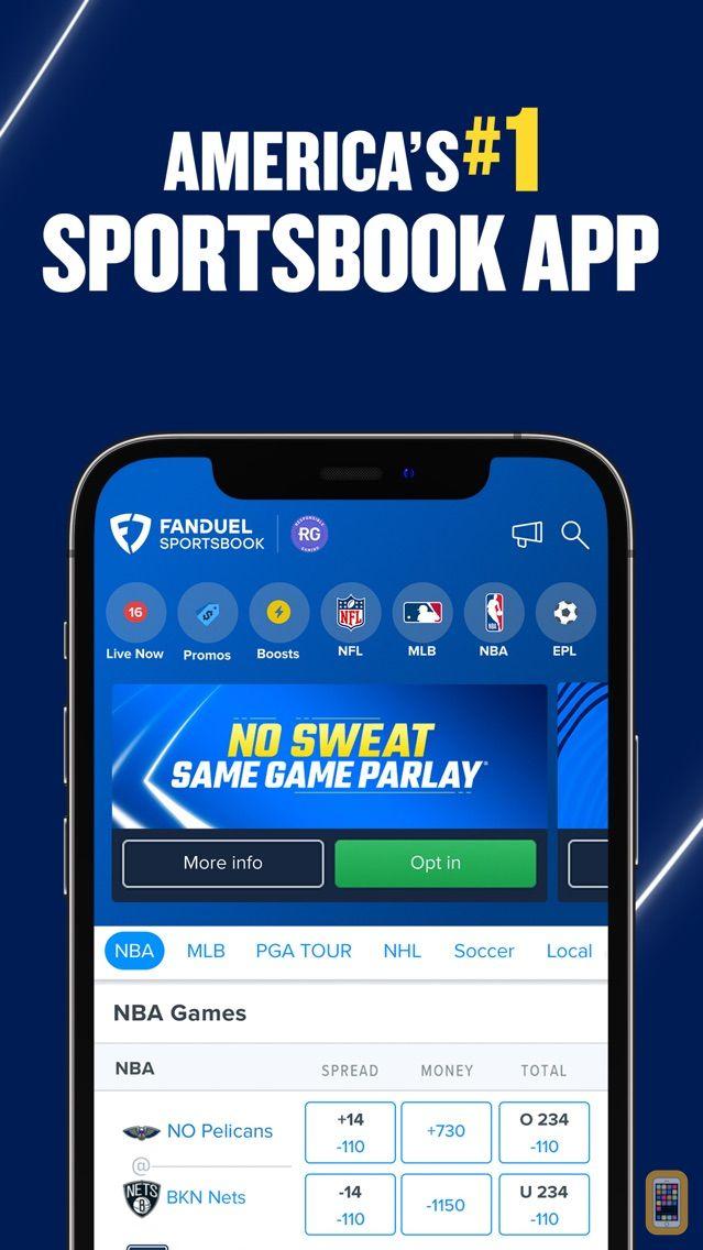 Screenshot - FanDuel Sportsbook & Casino