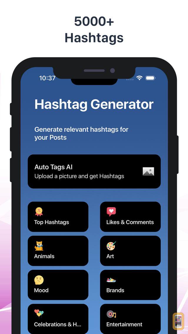 Screenshot - Hashtags for Instagram Likes