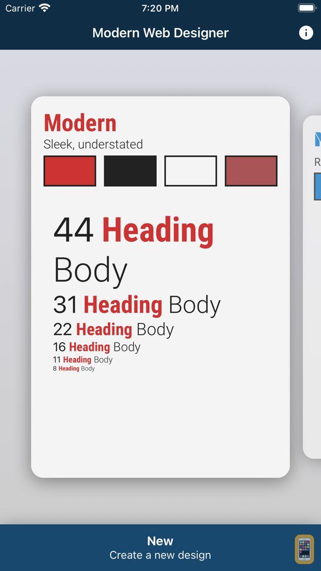 Screenshot - Modern Web Designer