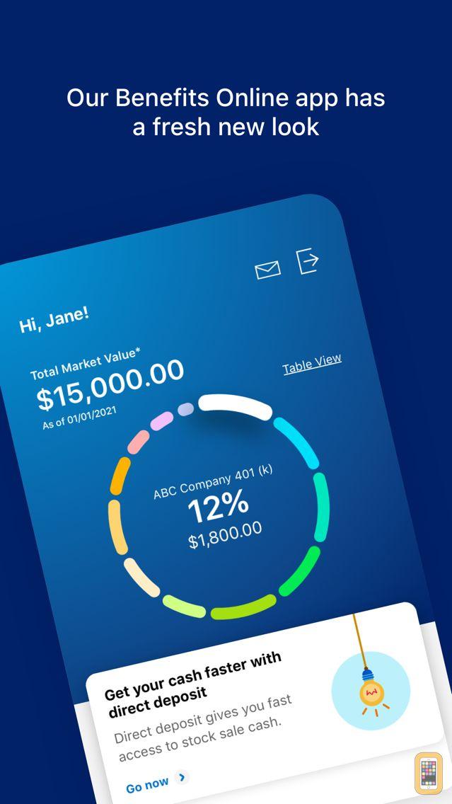 Screenshot - Benefits OnLine