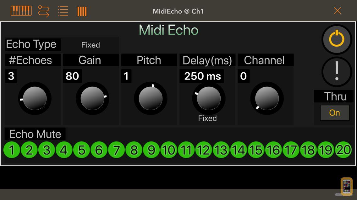 Screenshot - Midi Echo AU