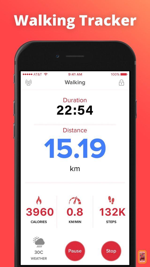 Screenshot - Walking Tracker to Lose Weight