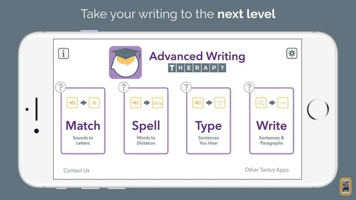 Screenshot - Advanced Writing Therapy