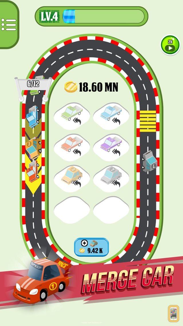 Screenshot - Merge Cars City Evolution