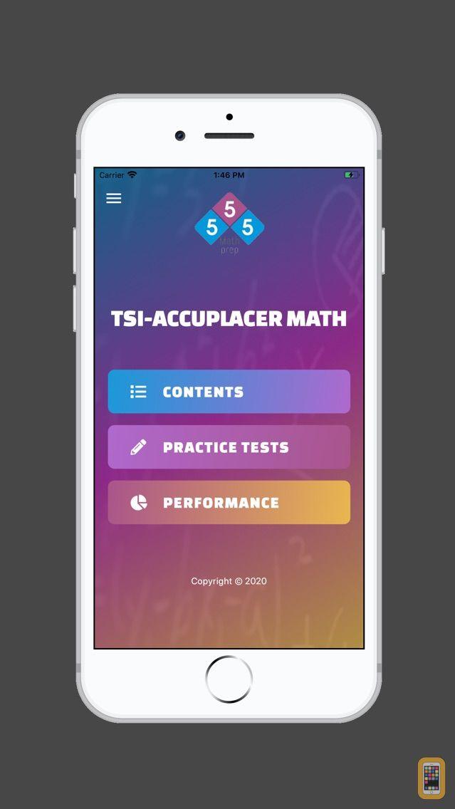 Screenshot - TSI - ACCUPLACER MATH