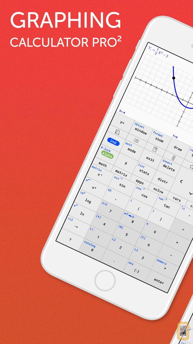 Screenshot - Graphing Calculator Pro²