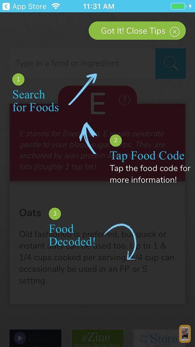 Screenshot - THM Food Analyzer