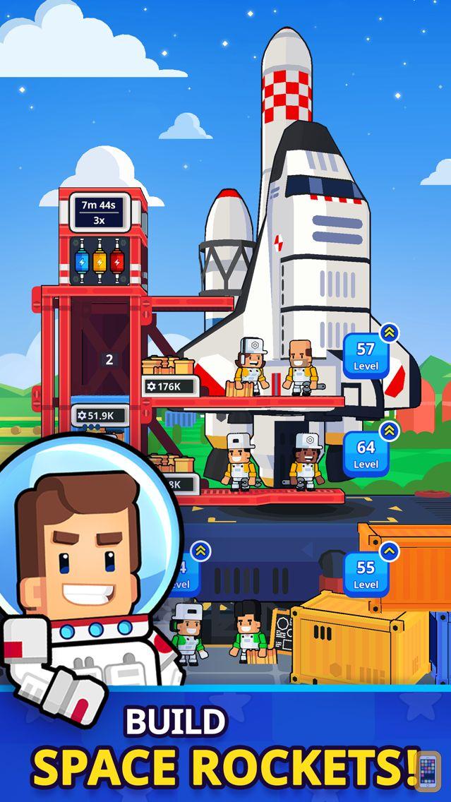 Screenshot - Rocket Star: Idle Tycoon Games