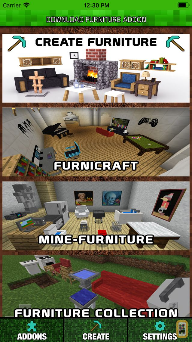 Screenshot - Furniture Addons for Minecraft