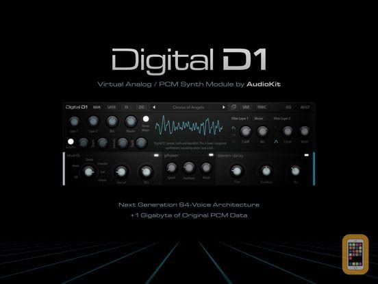 Screenshot - AudioKit Digital D1 Synth