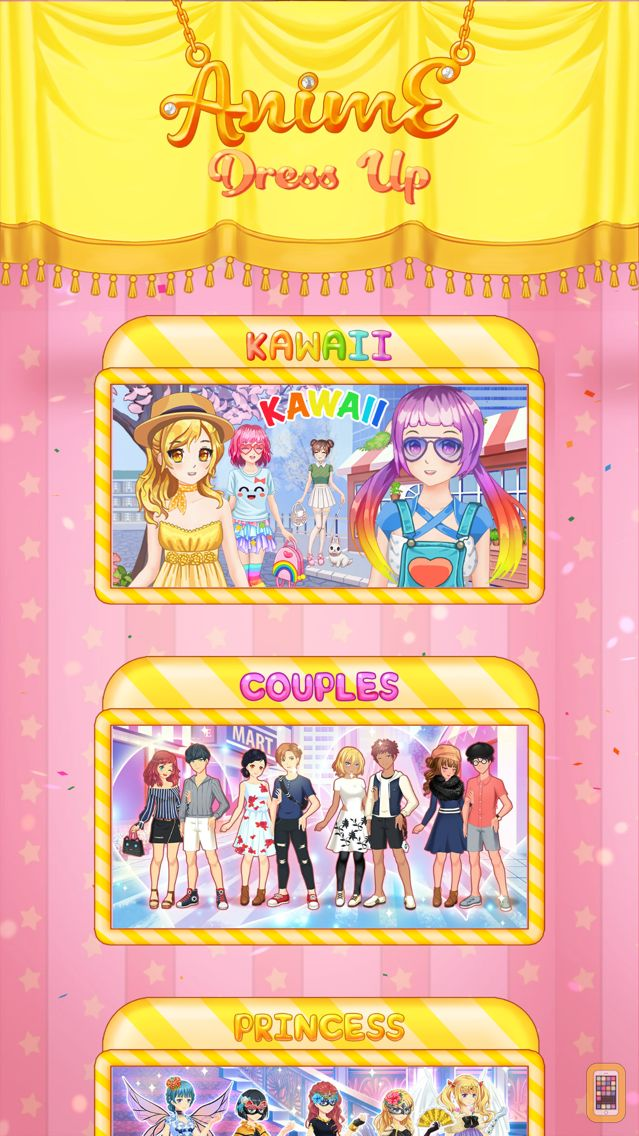 Screenshot - Anime Dress Up Games