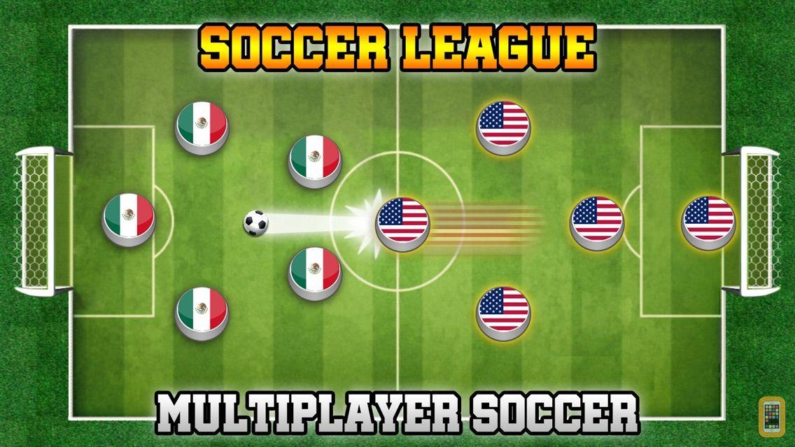 Screenshot - Soccer League: Flick & Score !
