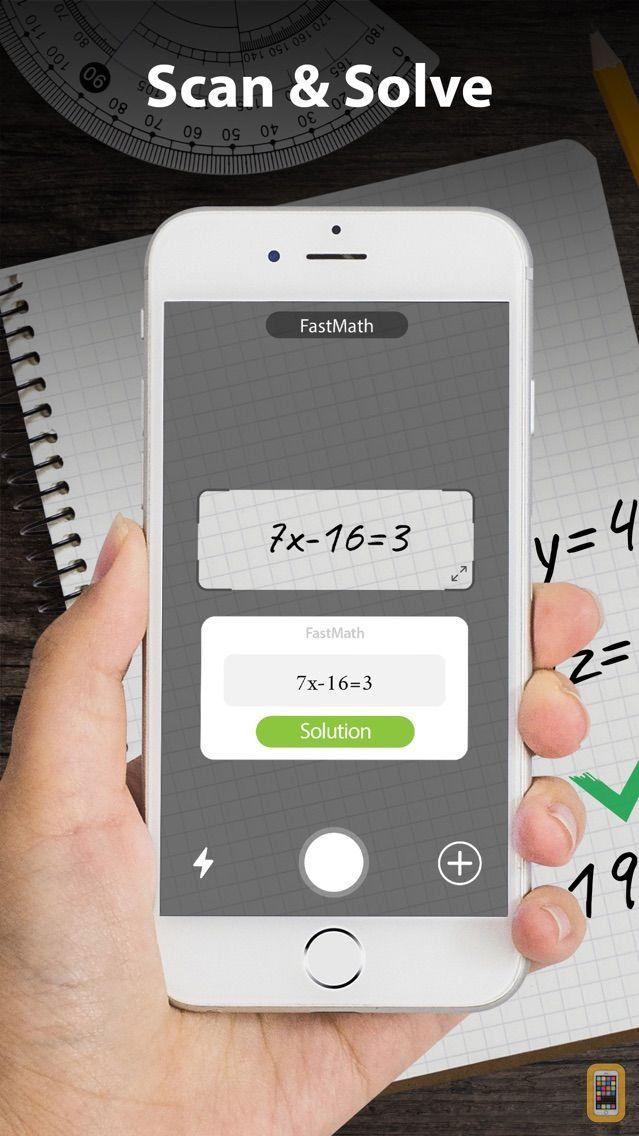 Screenshot - FastMath - Take Photo & Solve